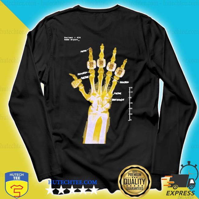 Kobe x-ray hand 2020 s longsleeve