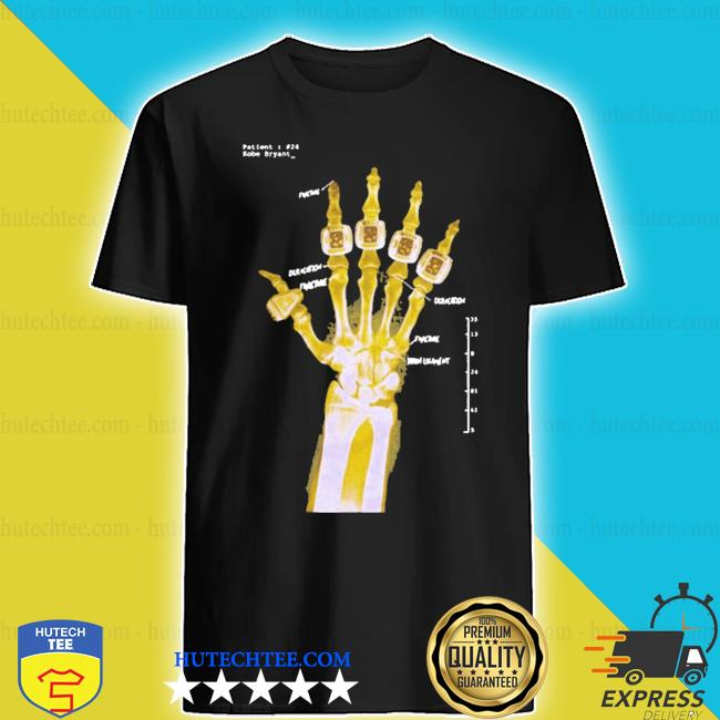 Kobe x-ray hand 2020 s shirt