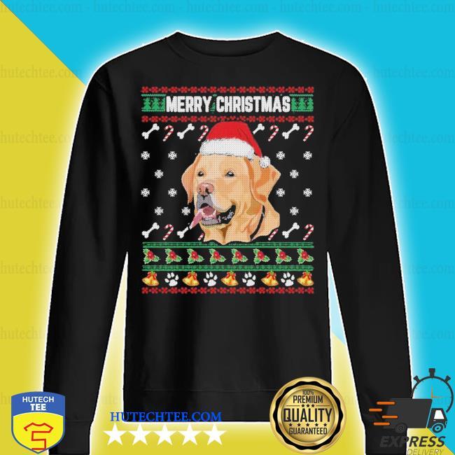Labrador merry xmas ugly christmas s sweater