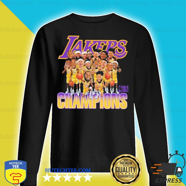 Lakers caricature 2020 championship s sweater