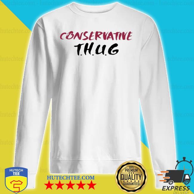 Larry henry kingface conservative thug s sweatshirt