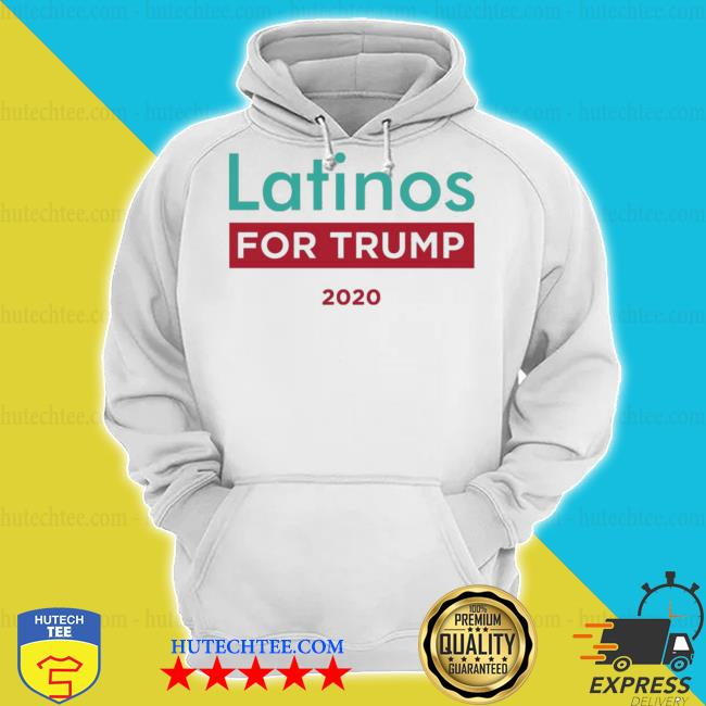 Latinos for trump 2020 s hoodie