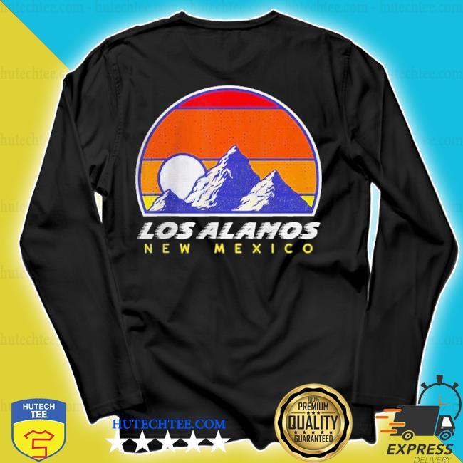 Los alamos new mexico usa ski 1980s retro vintage sunset s longsleeve