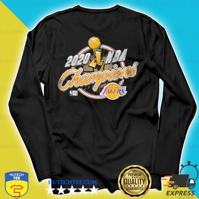 Los angeles lakers 2020 nba champions trophy logo s longsleeve