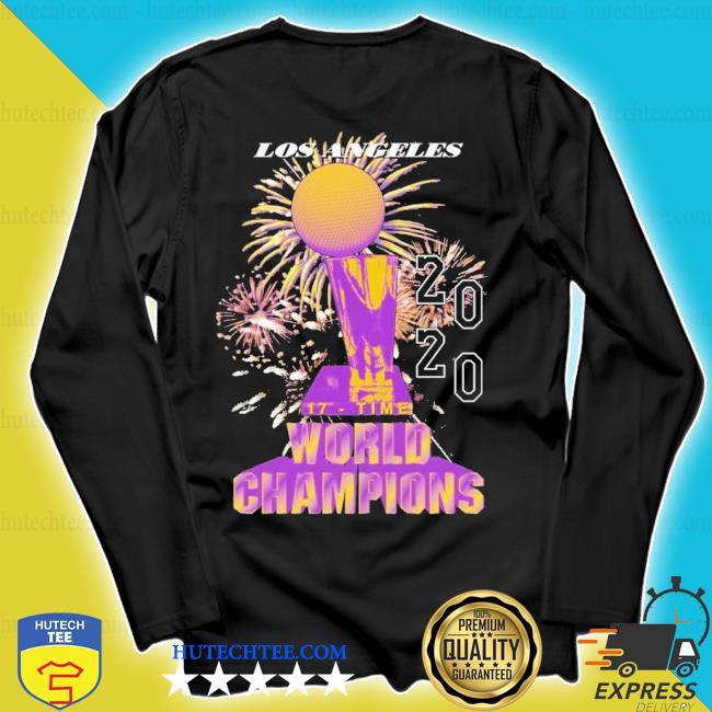 Los angeles lakers championship 2020 s longsleeve