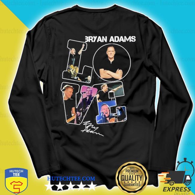 Love bryan adams signature s longsleeve