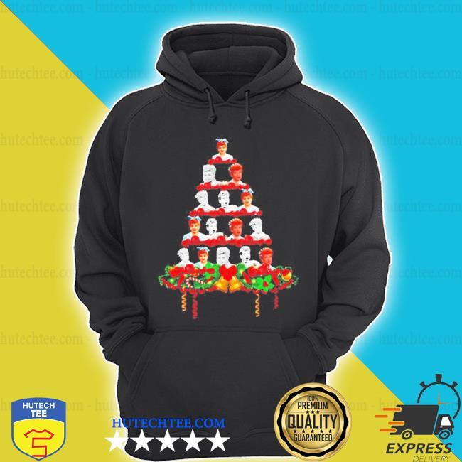 Lucille ball christmas tree ugly christmas sweater