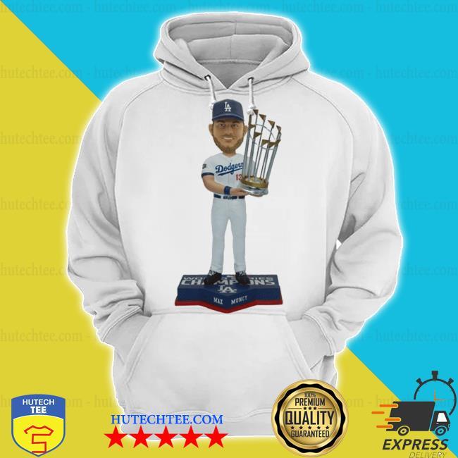 Max muncy 13 los angeles dodgers 2020 world series champions s hoodie