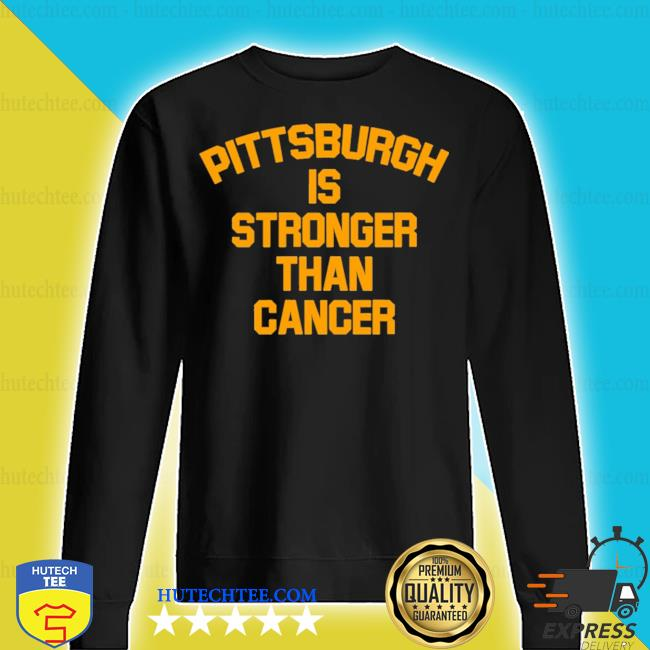 Mike tomlin pittsburgh is stronger than cancer s sweater