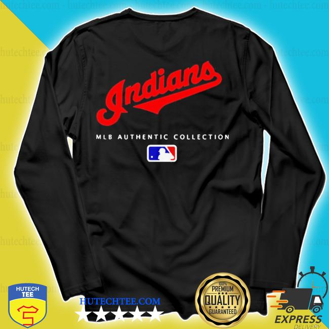 Mlb authentic collections cleveland indians s longsleeve