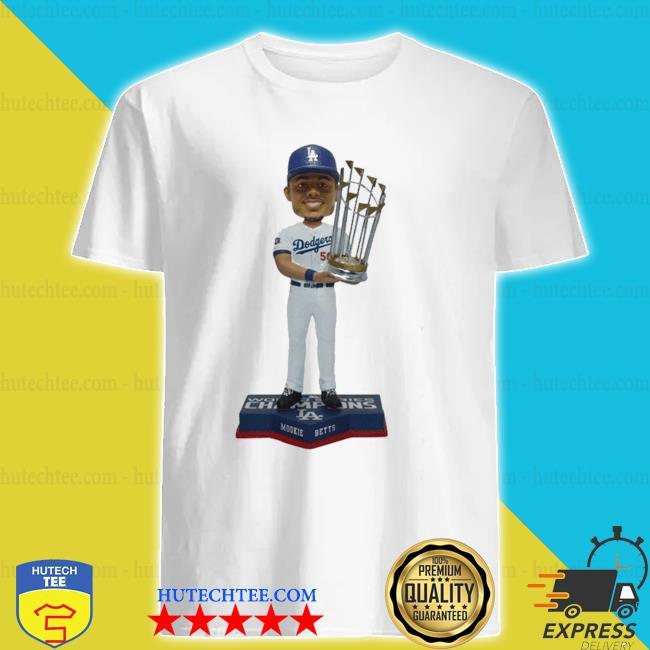 Mookie Betts Los angeles dodgers 2020 world series champions shirt