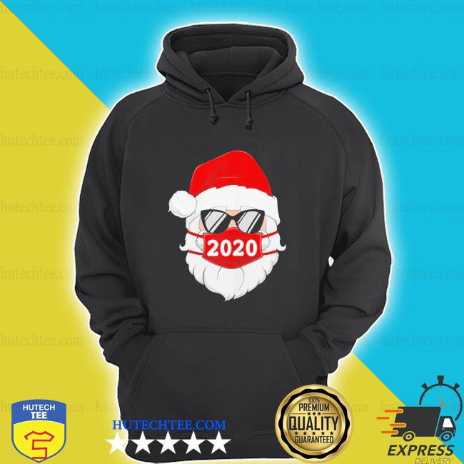 Santa with face mask 2020 christmas s hoodie