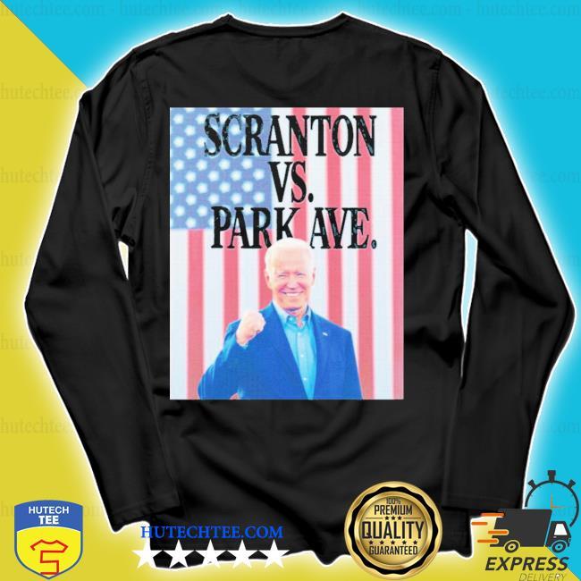 Scranton vs park ave flag s longsleeve