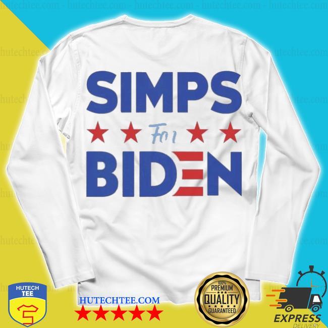 Simps For Biden 2020 s unisex longsleeve