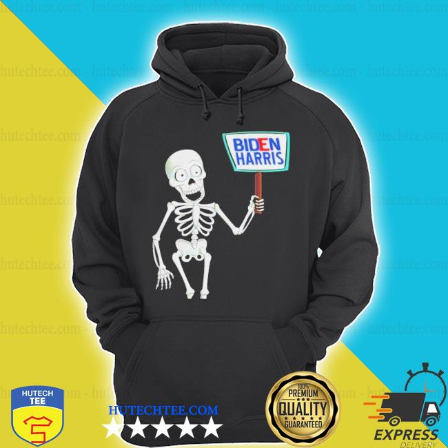 Skeleton voting 2020 monsters vote for joe bidens s hoodie