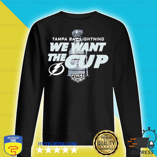 Tampa bay lightning we want the cup s sweater