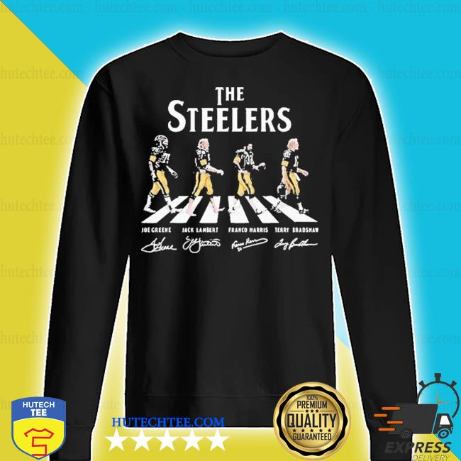 The steelers abbey road signatures 2020 s sweater
