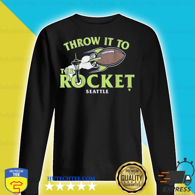 Throw it to the rocket seattle s sweater