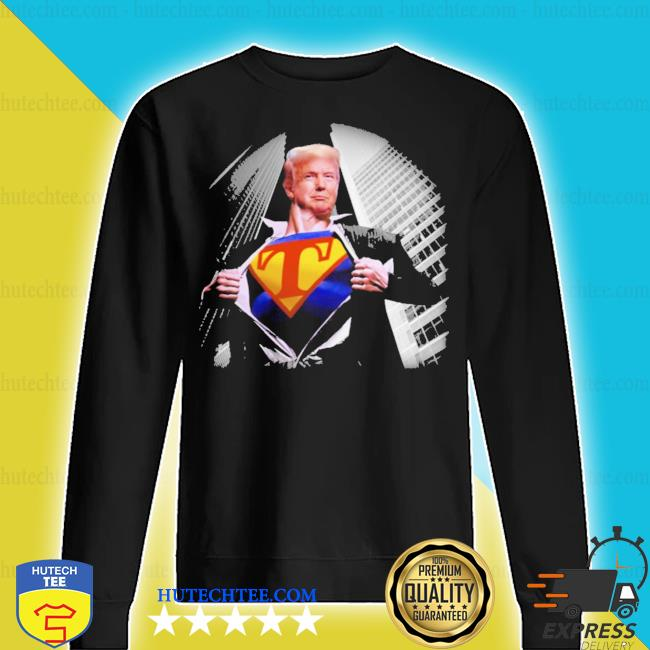 Trump wanted to wear superman s sweater