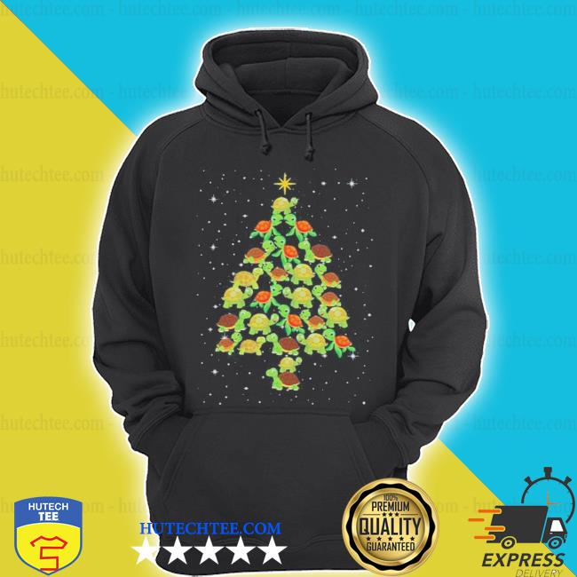 Turtle Christmas tree ugly christmas sweater