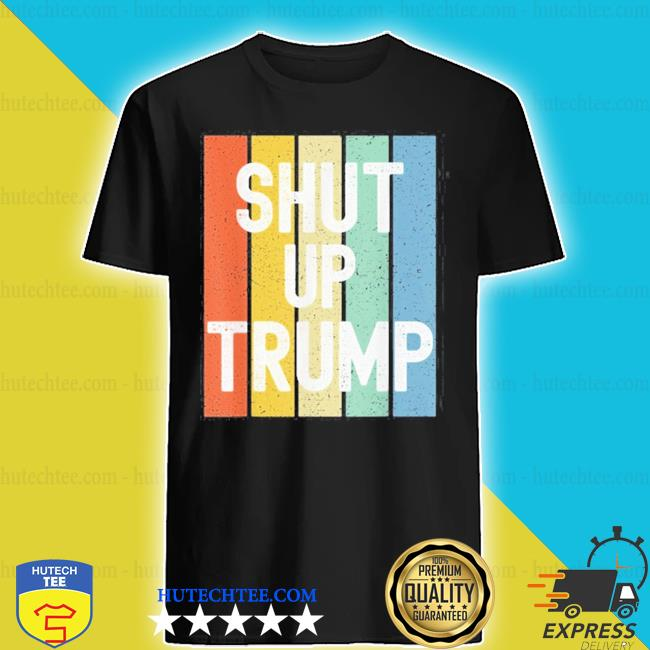 Vintage shut up trump joe biden presidential debate 2020 s shirt