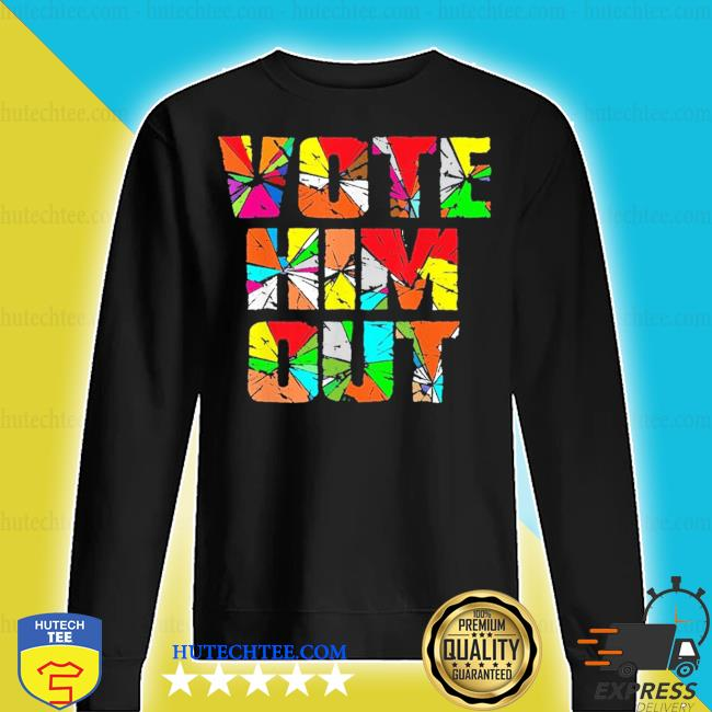 Vote him out anti-trump vintage 2020 colorful s sweater
