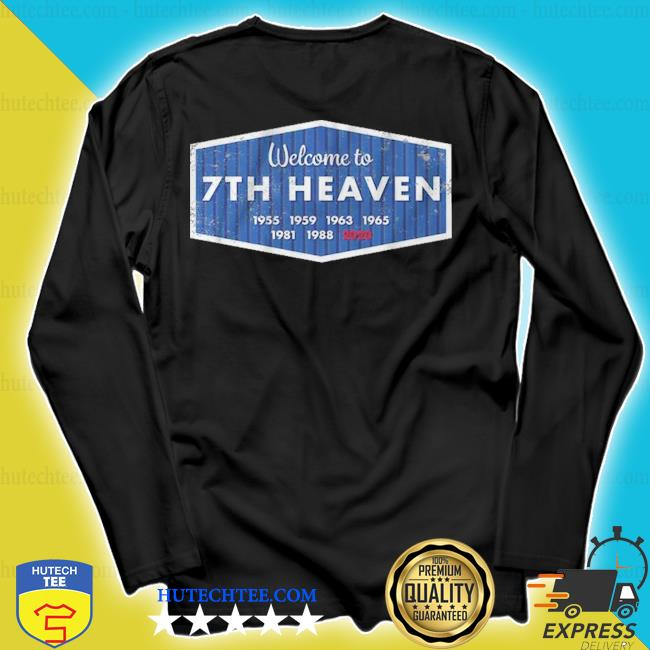 Welcome to 7th heaven los angeles baseball s longsleeve