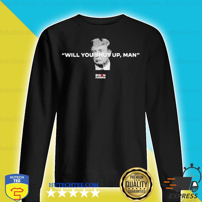 Will you shut up man joe biden s sweater