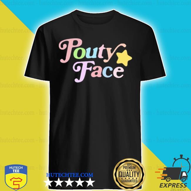 Addison rae youth pouty face blue shirt