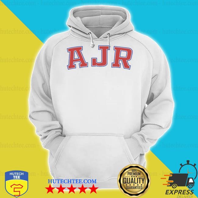 Ajr merch ajr collegiate raglan s hoodie