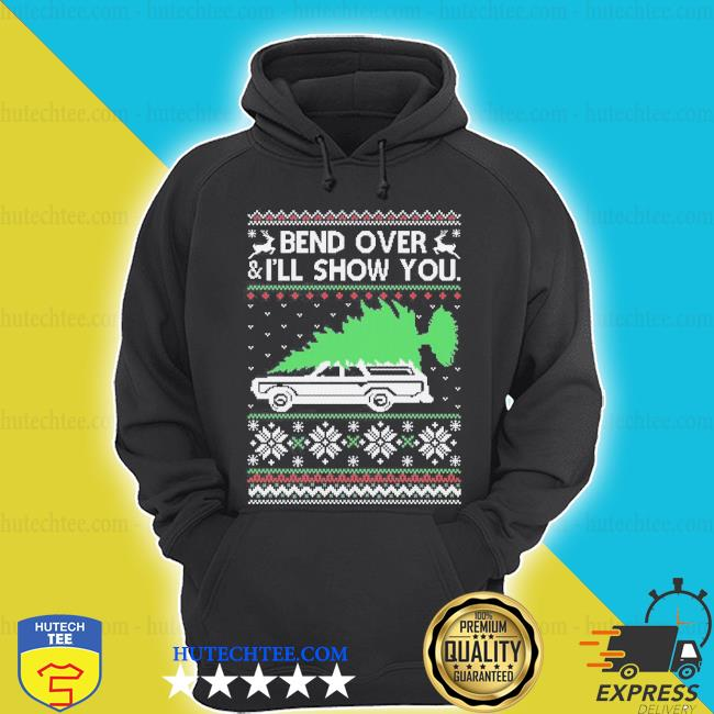 Bend it over ugly Christmas sweater