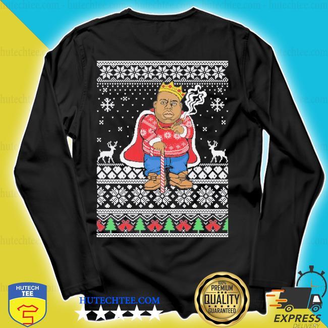 Biggie ugly Christmas sweater longsleeve