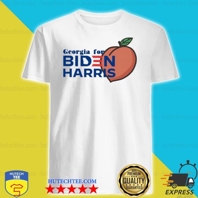 Georgia for biden harris peach shirt