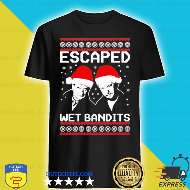 Home alone escaped wet bandits ugly christmas sweater