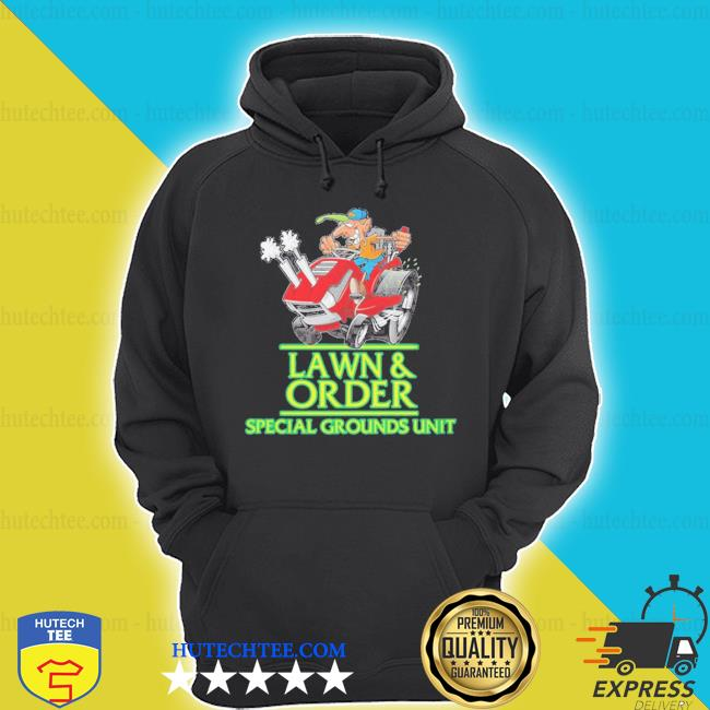 Lawn and order lawn mower landscaper 2020 shirt