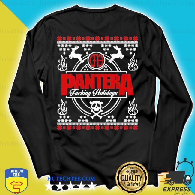 Pantera Christmas pantera fucking holidays ugly Christmas sweater longsleeve