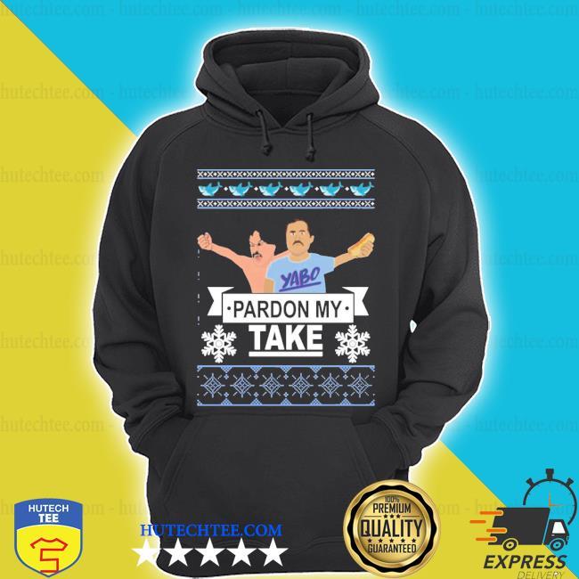 Pardon my take Christmas ugly sweater