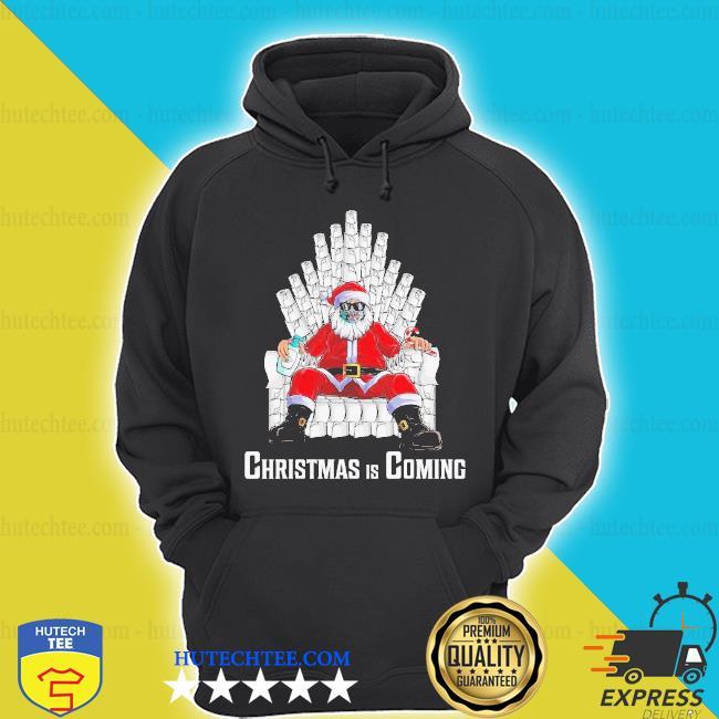 Santa king toilet paper quarantine Christmas sweater