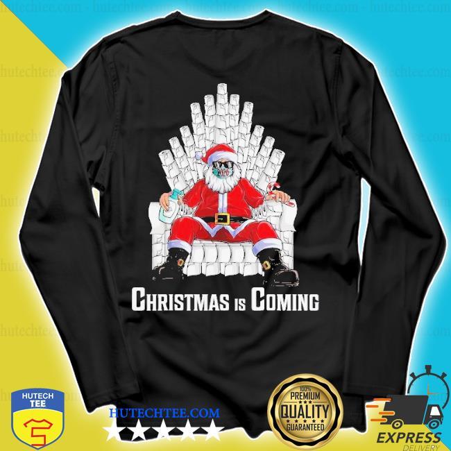 Santa king toilet paper quarantine Christmas sweater longsleeve
