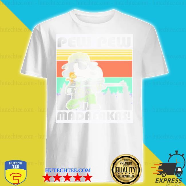 Snoopy pew pew madafakas shirt