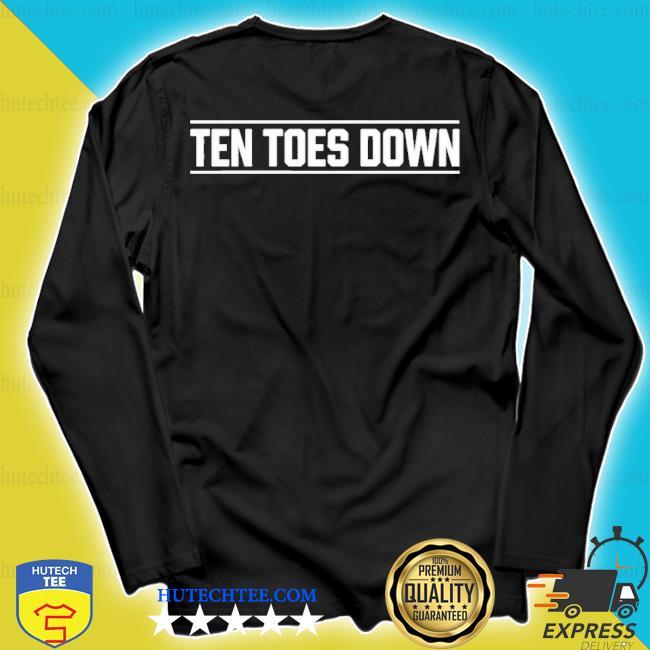 Ten toes down merch ten toes down s longsleeve