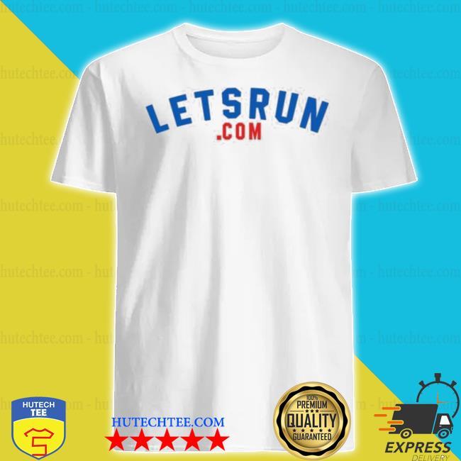The letsrun.com 20th anniversary shirt