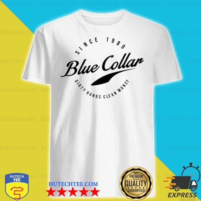 Acal clothing merch blue collar shirt