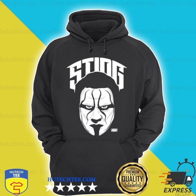 All elite wrestling sting the icon s hoodie