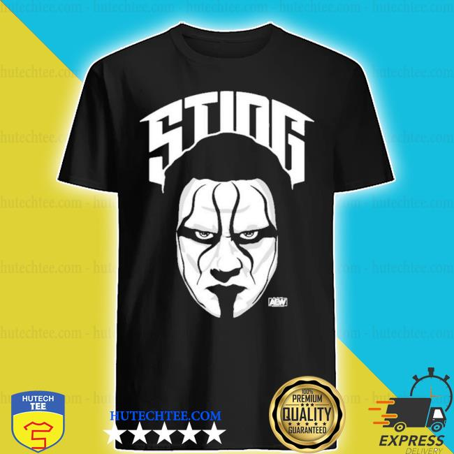 All elite wrestling sting the icon shirt