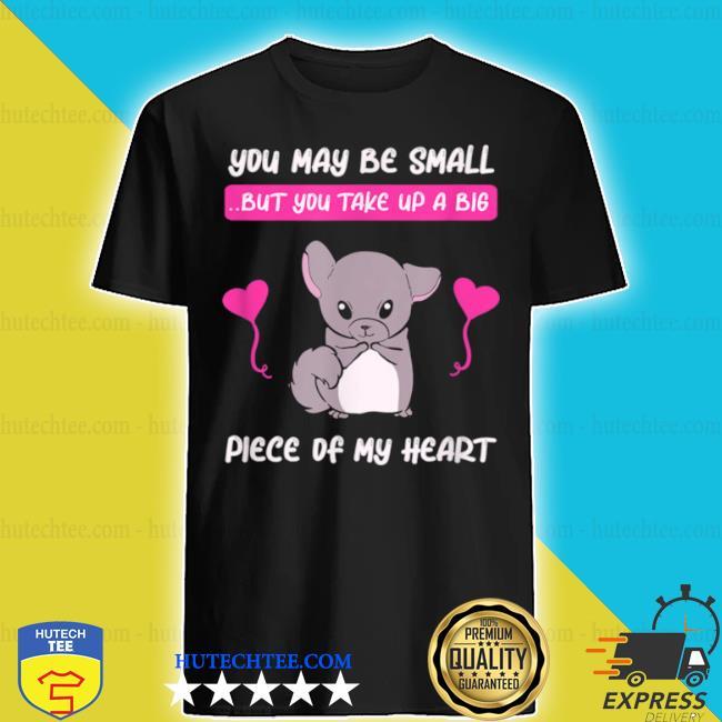 Chinchilla mom pet rodent chinchillas love heart shirt