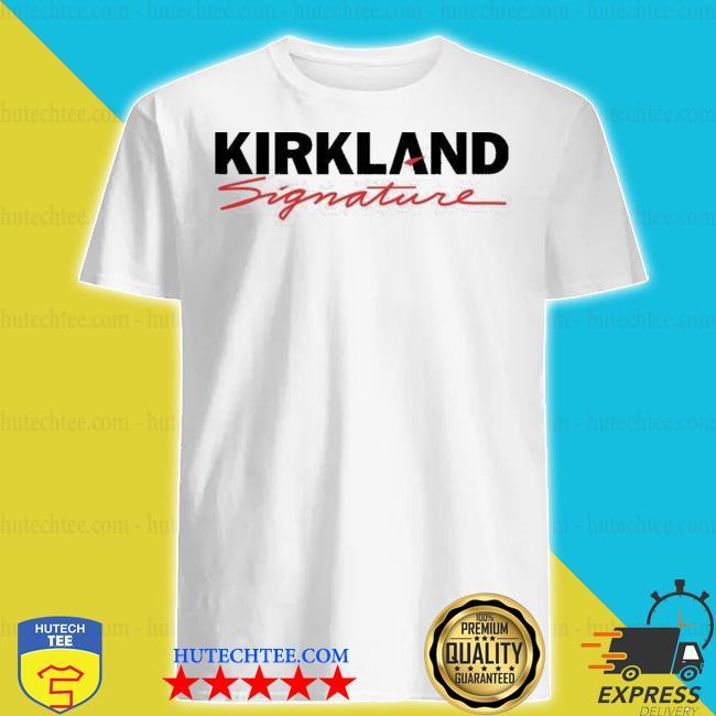 Costco kirkland signature logo shirt