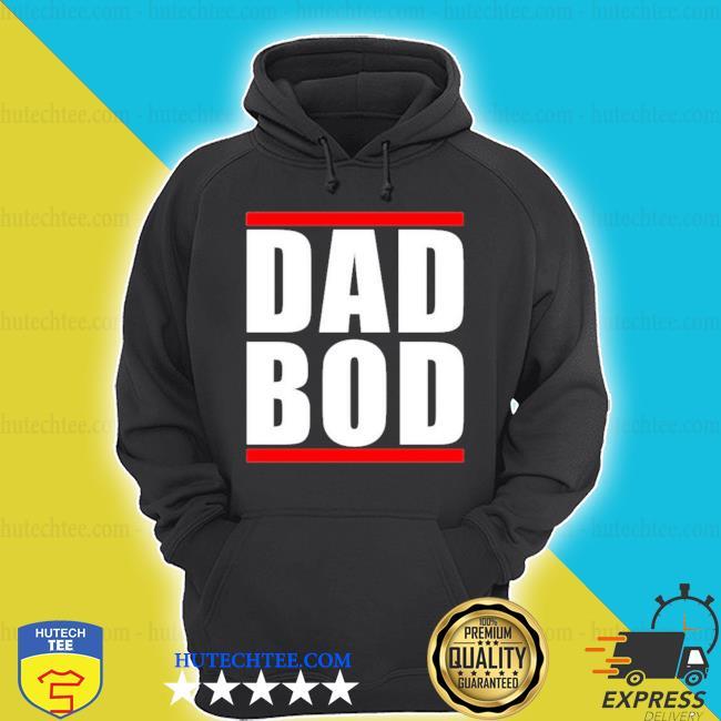 Dad bod run dmc inspired s hoodie