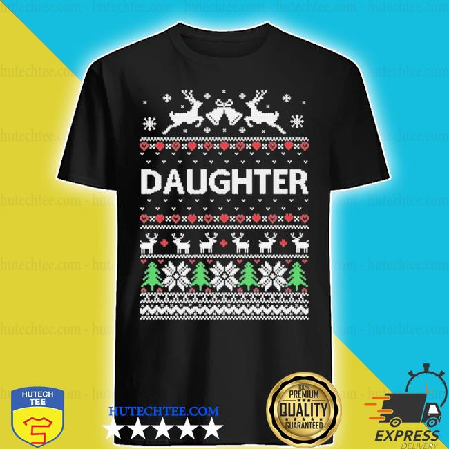 Daughter ugly Christmas sweater