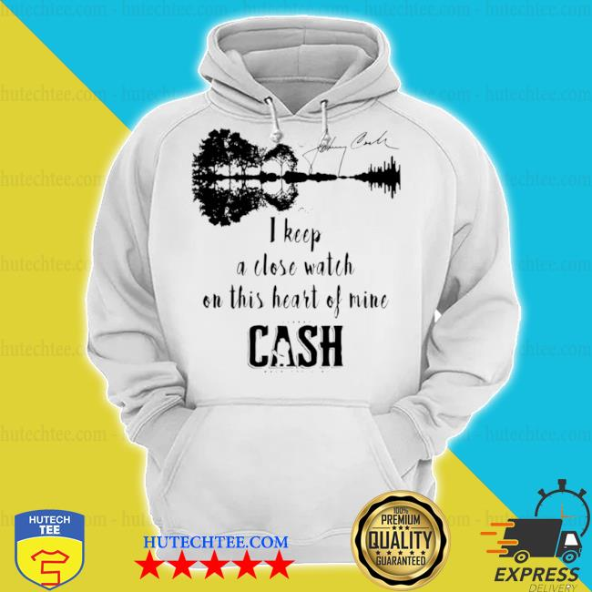 Johnny Cash I keep a close watch on this heart of mine Cash signature s hoodie